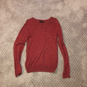 Used red Aeropostale crewneck sweater